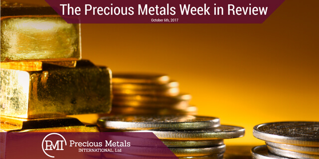 Precious Metals Week In Review