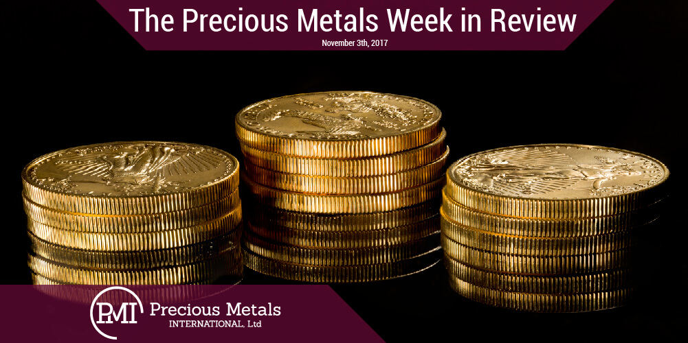 The Precious Metals Week in Review