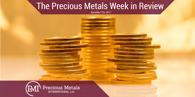 The Precious Metals Week in Review - November 17, 2017 - Precious Metals International