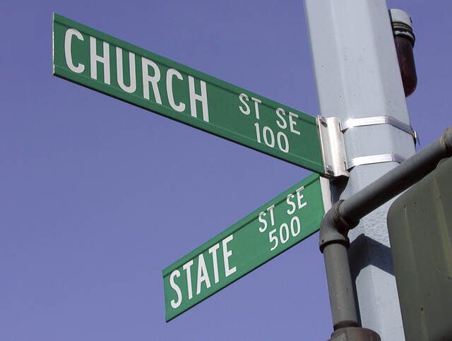 The Origin of the Separation of Church and State