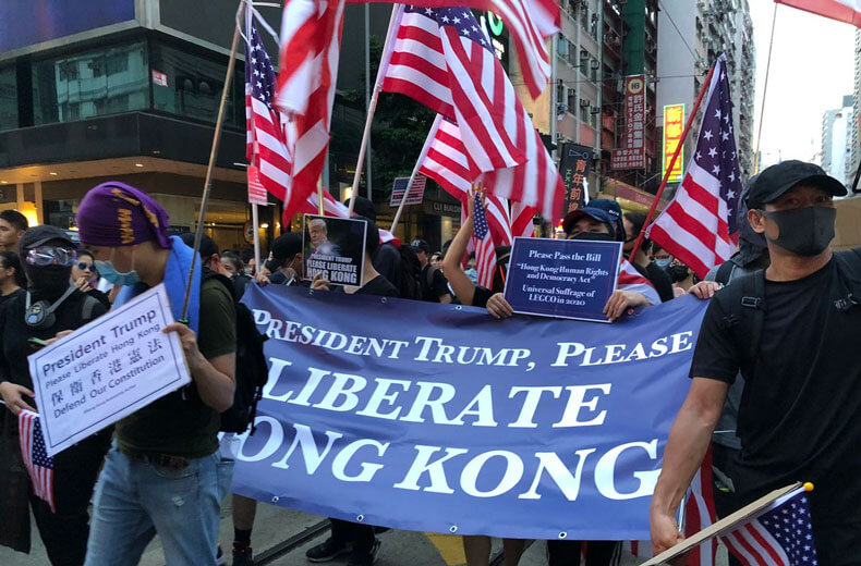 On The Ground In Hong Kong