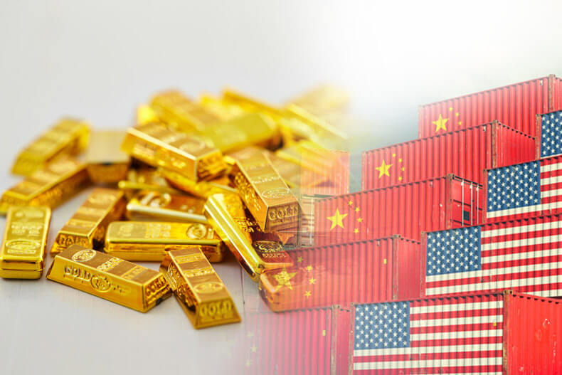 """You Stupid Gold Bugs! Trade War Risks Are Over So Sell Your Gold"""