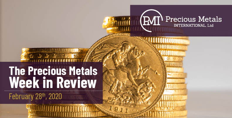 The Precious Metals Week in Review - February 28th, 2020.