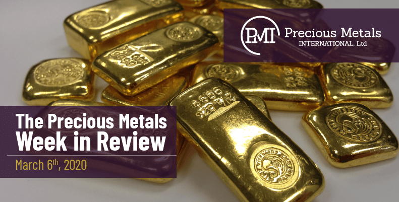 The Precious Metals Week in Review - March 6th, 2020.