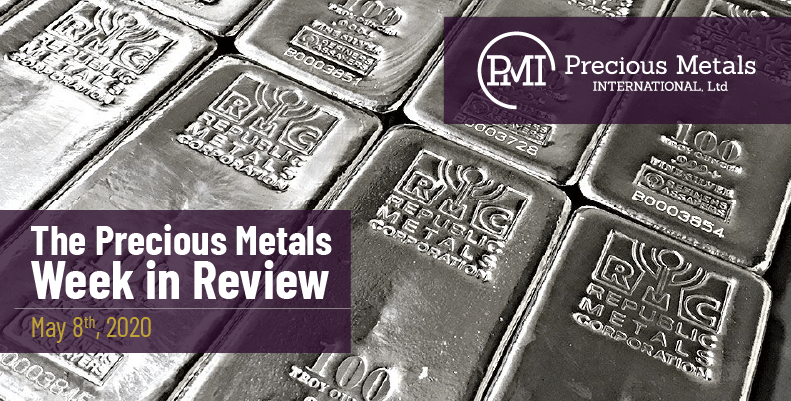 The Precious Metals Week in Review - May 8th, 2020.