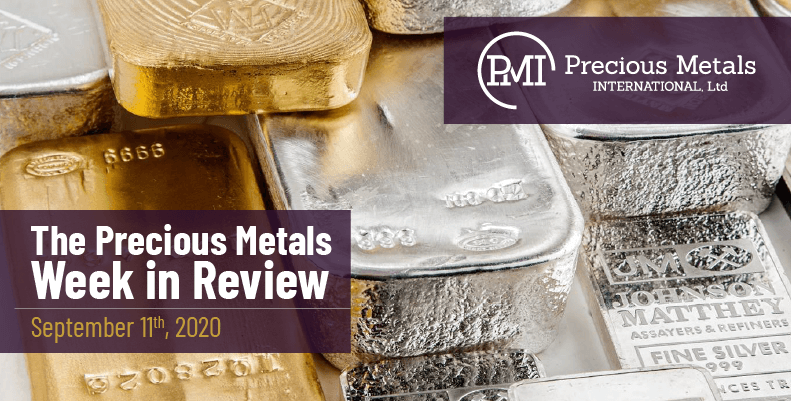 The Precious Metals Week in Review - September 11th, 2020.
