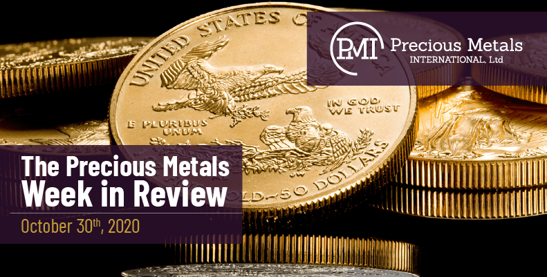 The Precious Metals Week in Review - October 30th, 2020.