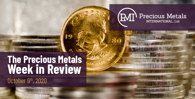 The Precious Metals Week in Review - October 9th, 2020.