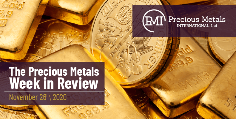 The Precious Metals Week in Review - November 27th, 2020.