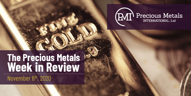 The Precious Metals Week in Review - November 6th, 2020.