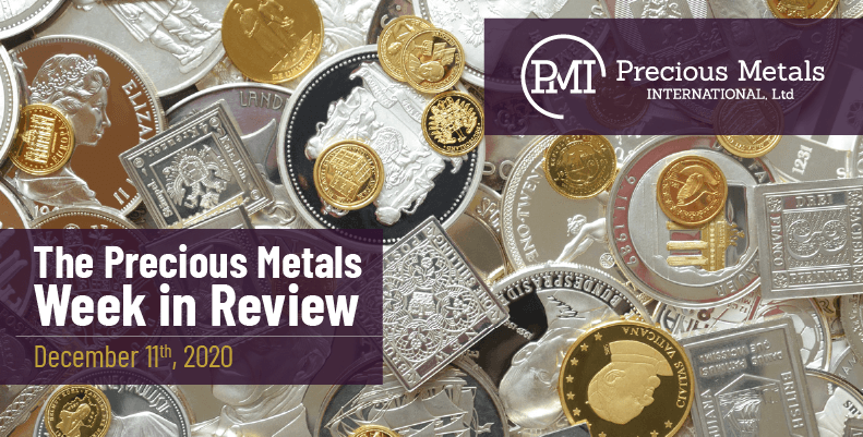 The Precious Metals Week in Review - December 11th, 2020.