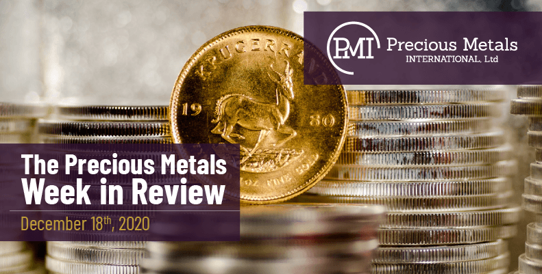 The Precious Metals Week in Review - December 18th, 2020.