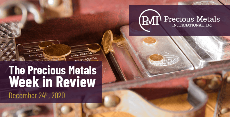 The Precious Metals Week in Review - December 24th, 2020.