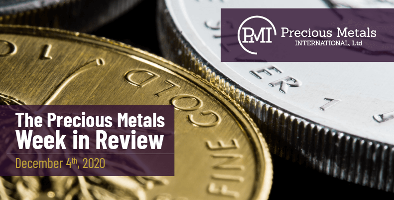 The Precious Metals Week in Review - December 4th, 2020.
