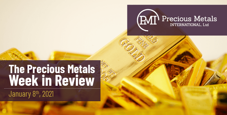 The Precious Metals Week in Review - January 8th, 2021.