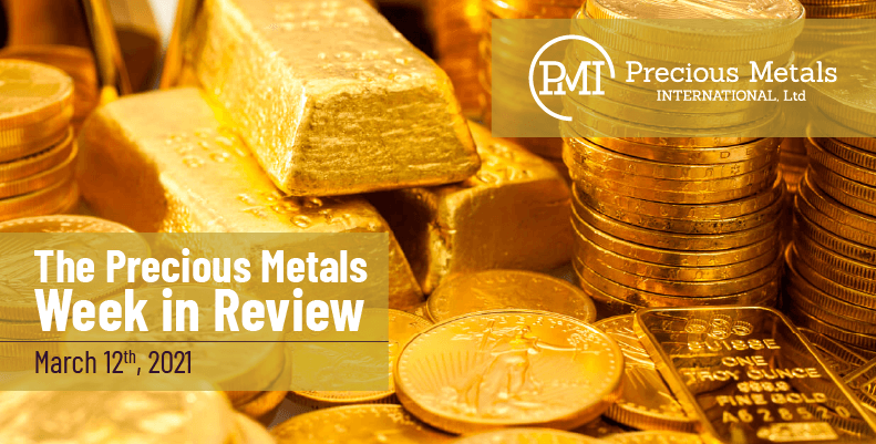 The Precious Metals Week in Review – March 12th, 2021