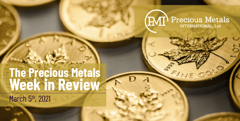 The Precious Metals Week in Review – March 5th, 2021