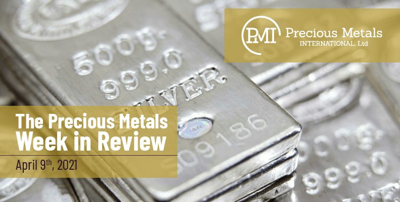 The Precious Metals Week in Review – April 9th, 2021