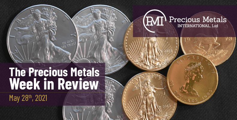 The Precious Metals Week in Review – May 28th, 2021