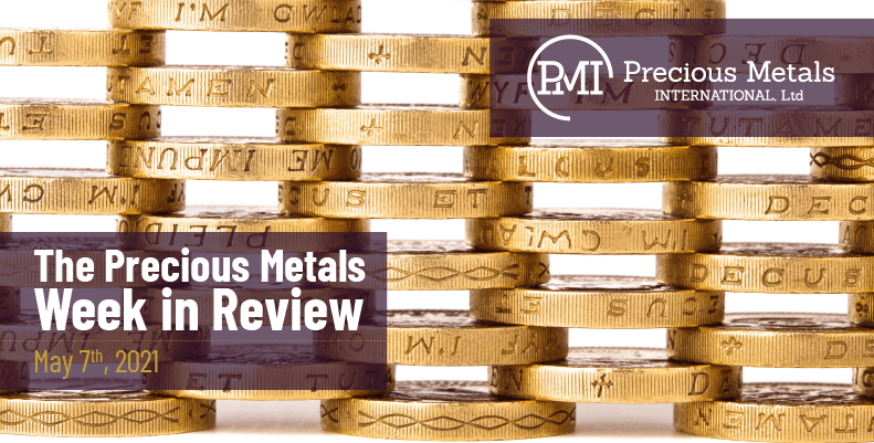 The Precious Metals Week in Review – May 7th, 2021