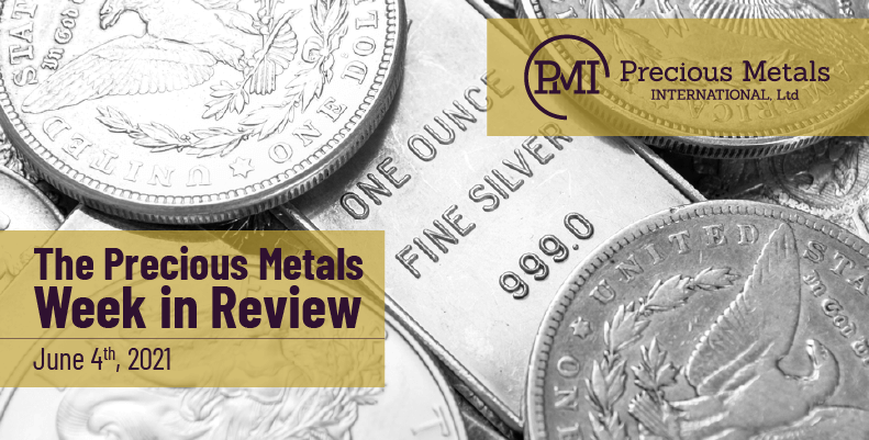 The Precious Metals Week in Review – June 4th, 2021
