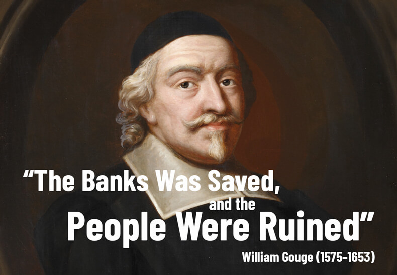 The Banks Was Saved, and the People Were Ruined - William Gouge