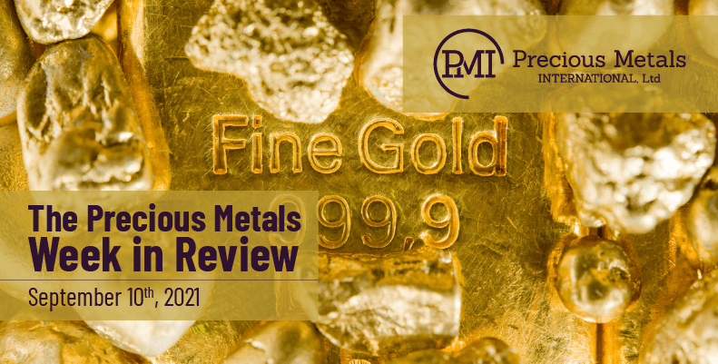 The Precious Metals Week in Review – September 10th, 2021