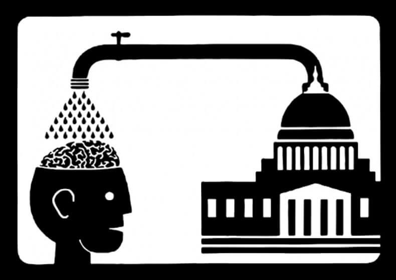 Quantitative Brainwashing